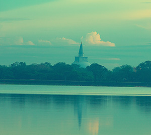 Tisa Wewa in Anuradhapura, Sri Lanka