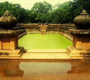 Kuttam Pokuna - Twin Ponds in Anuradhapura, Sri Lanka
